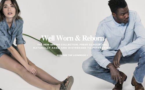 Silver Jeans Co. - Well Worn & Reborn - The new spring collection. Fresh silhouettes, naturally aged and distressed to perfection. - Explore the Lookbook