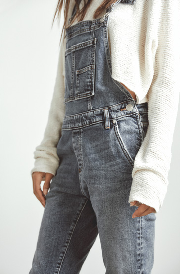 Silver Jeans - EASY DOES IT - Because nothing's more effortless than overalls - Get Your Pair