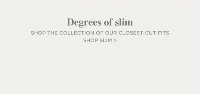 Silver Jeans Co. - DEGREES OF SLIM - Explore the collection of our closest-cut fits - Shop Slim