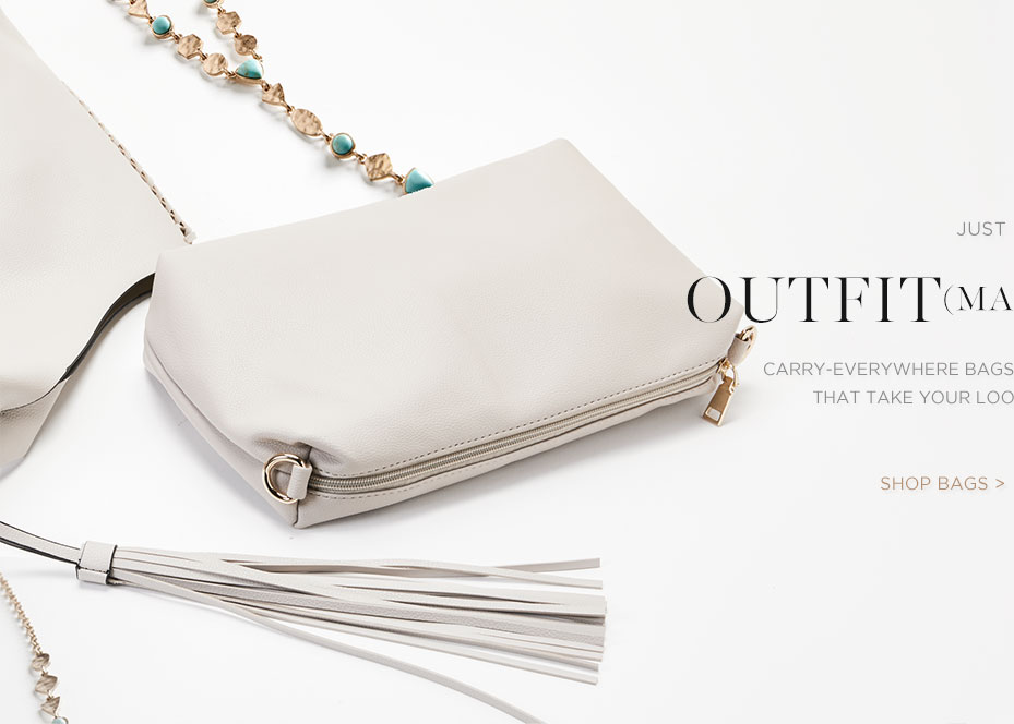 Silver Jeans Co. - Carry-everywhere bags and boho-inspired jewelry - Outfit Making Extras - shop bags >