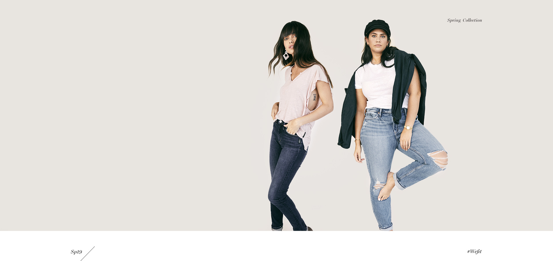 Silver Jeans Co. - On the Rise - New super-high rises and waist-defining pieces that flatter and lengthen in all the right ways. Your legs will thank you.